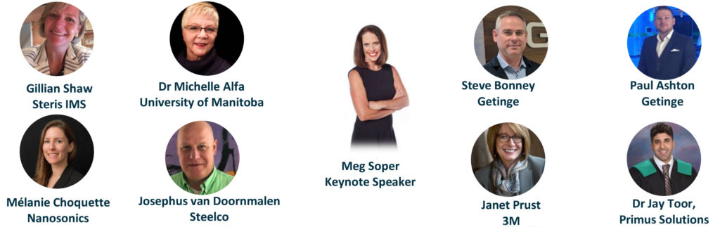 Headshots and Names of the MDRAO 2019 Conference Speakers